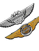 cheap -Car Stickers and Decals 3D Eagle Emblem Auto Sticker Metal Badge Exterior Accessories Cool Universal Personalized