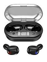 cheap -T6 Wireless Earbuds TWS Headphones Bluetooth5.0 with Charging Box Smart Touch Control LED Power Display for Travel Entertainment