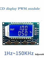 cheap -Signal Generator PWM Pulse Frequency Duty Cycle Adjustable Module LCD Display 1Hz-150Khz 3.3V-30V PWM Board Module