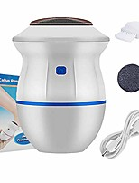 cheap -portable electric vacuum adsorption foot grinder - usb electronic foot file pedicure tools, dual-speed càllus remover - feet care perfect for dead,hard cracked dry skin (white)