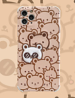 cheap -Case For Apple iPhone 11 / iPhone 11 Pro / iPhone 11 Pro Max Shockproof Back Cover Animal TPU