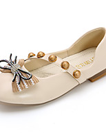 cheap -Girls' Flats Princess Shoes PU Little Kids(4-7ys) / Big Kids(7years +) Walking Shoes Black / Pink / Beige Spring / Fall