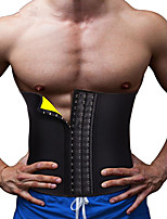 cheap -Sauna Belt Neoprene Waist Trainer Shaper Slimming Belt Adjustable Waist Belt Sports Neoprene Home Workout Fitness Gym Workout Adjustable Tummy Control Calories Burned For Men Women