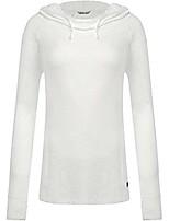 cheap -tasc performance women's pizzazz ii tunic hoodie, white, medium
