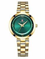 cheap -fashion women quartz waterproof wrist watch,light luxury gift for girls (green)