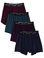 cheap -men's 4 pack performance boxers shorts (xx-large, darks)