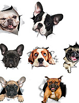 cheap -Car Stickers Individuality Door Stickers / Full Car Stickers Animal 3D Stickers Dog