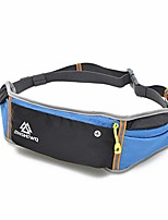 cheap -running belt waist pack for iphone xs and all phone models, ultra-thin anti-theft sports pockets for hands free running, exercise, workouts, travel (black)