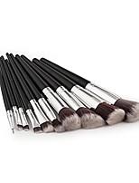 cheap -new 7pcs/8pcs/10pcs pencil foundation eye shadow makeup brushes eyeliner brush (10pcs)