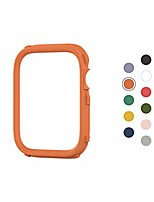 cheap -crashguard nx extra rim [only] compatible with apple watch series 1/2 / 3 [38mm] & series 4/5 [40mm] | additional accessory for  apple watch case - orange