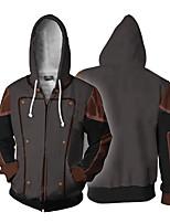 cheap -Inspired by Avatar: The Last Airbender Amon Cosplay Costume Hoodie Terylene 3D Printing Hoodie For Men's / Women's