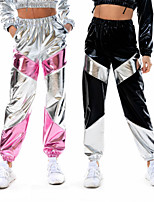 cheap -Hippie Disco Retro Vintage Hippie 1970s Disco 1980s Pants Masquerade Women's Costume Golden / Black / Blue Vintage Cosplay Party