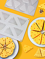 cheap -Cheese Shaped Cake Mold For Baking Dessert Ring Art Mousse Silicone 3D Mould Silicon Moule Pan Pastry Tools