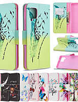 cheap -Case For Samsung Galaxy S9 / S9 Plus / S20 Plus Wallet / Shockproof / Flip Full Body Cases Butterfly / Tree / Flower PU Leather