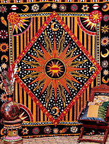 cheap -Tarot Divination Wall Tapestry Art Decor Blanket Curtain Picnic Tablecloth Hanging Home Bedroom Living Room Dorm Decoration Mysterious Bohemian Sun