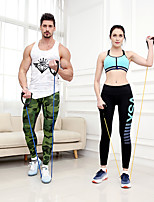 cheap -Pedal Resistance Band Exercise Resistance Bands Resistance Band / Exercise Tube 1 pcs Sports Latex Home Workout Gym Workout Exercise & Fitness Portable Adjustable Non Toxic Stretchy Strength Training