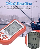 cheap -7-in-1 function digital altimeter with digital barometer weather forecast time calendar thermometer and backlight