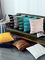cheap -Velvet Gold Bar Pillowcase Furniture European Classical Sofa Cushion Cover Gold Bar Waist Pillowcase