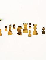 cheap -International Chess / Animals Wall Stickers Mirror Wall Stickers Decorative Wall Stickers, Acrylic Home Decoration Wall Decal Wall Decoration 1pc