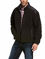 cheap -Hiking Jacket Hiking Fleece Jacket Winter Outdoor Thermal Warm Windproof Breathable Camping / Hiking Hunting Fishing Black Gray Coffee