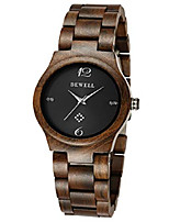 cheap -wood watches for women fashion lightweight quartz movement analog wooden wristwatch