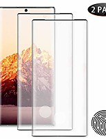 """cheap -2 pack hd galaxy note 20 ultra screen protector ,tempered glass [3d full edge covered][9h hardness]case friendly glass protector, for samsung galaxy note 20 ultra 5g (6.9"""")"""