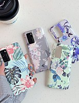 cheap -Case For Huawei Huawei P20 / Huawei P20 Pro / Huawei P20 lite Pattern Back Cover Flower TPU