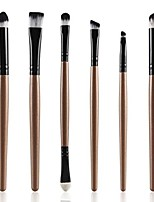 cheap -6pcs cosmetic makeup brush lip makeup brush eyeshadow brush (gold)