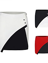 cheap -Women's Tennis Golf Skirt Breathable Quick Dry Soft Sports Outdoor Autumn / Fall Spring Summer White Black Red / Stretchy
