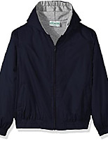 cheap -Hiking Jacket Sun Protective Clothing Hiking Windbreaker Summer Outdoor Thermal Warm Windproof Breathable Camping / Hiking Hunting Fishing HY113 dark green HY113 rice white HY113 Navy HY113 black