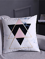 cheap -1 pcs Velvet Pillow Cover, Art Deco Solid Colored Luxury Modern Square Zipper Traditional Classic