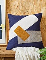 cheap -Cushion Cover Texture Fashion Retro Complex Advanced Towel Embroidered Home Office Geometry Pillow Case Cover Living Room Bedroom Sofa Cushion Cover