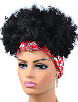 cheap -Synthetic Wig Afro Curly Kinky Pixie Cut Wig Short Black Synthetic Hair Women's Fashionable Design New Arrival For Black Women Black