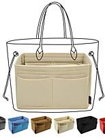 cheap -purse organizer insert,  felt handbag organizer with zipper pouch, key chain for tote bag organizer, speedy
