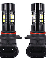 cheap -OTOLAMPARA 2pcs 9005(HB3) Car Light Bulbs 21 W SMD 3030 1800 lm 21 LED Headlamps For universal All Models All years