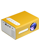 cheap -T300 Projector Support 1080P 600Lumens Projector Screen 100inch Led Projector Lens 3.5mm Audio HDMI LED Mini Projetor