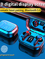 cheap -CARKIRA T28 Wireless Earbuds TWS Headphones Bluetooth5.0 Stereo with Microphone with Volume Control HIFI with Charging Box for Mobile Phone