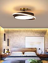 cheap -45 55 cm LED Ceiling Light Black White Simple Modern Fashion Round Led Ceiling Lamp Nordic Bedroom Living Room Office