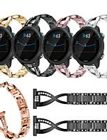 cheap -For Garmin Forerunner 245 / 645 / Venu /Vivomove HR  Wrist Strap Metal Women's Bracelet For Garmin Vivoactive 3 / Vivomove 3 Rhinestone Smart Watch Accessories Band