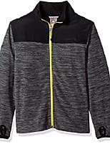 cheap -Hiking Jacket Winter Outdoor Thermal Warm Windproof Breathable Camping / Hiking Hunting Fishing Grey Light Gray Dark Gray