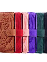 cheap -Case For Motorola Moto G7 / Moto G7 Plus / Moto G7 Play Wallet / Shockproof / Flip Full Body Cases Animal PU Leather