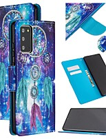 cheap -Case For Samsung Galaxy S9 / S9 Plus / S8 Plus Wallet / Card Holder / with Stand Full Body Cases Feathers PU Leather