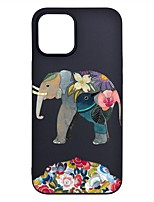 cheap -Case For iPhone 12 Pro Max Frosted Pattern Back Cover Animal TPU Soft iPhone 12 Mini 11 Pro SE 2020 XR XS Max 7 8 Plus