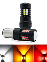 cheap -4pcs / 2pcs / 1pcs Car Light Bulbs 21 W SMD 3030 800 lm 21 LED Turn Signal Lights For universal