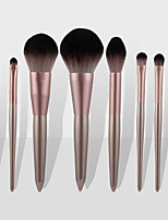 cheap -9 Pcs Little Grape Makeup Brush small pudding makeup set brushes super soft beauty tool for beginners
