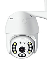 cheap -1080P Outdoor Speed Dome Wifi Camera IP 2MP H.265 Audio PTZ Wireless Camera Surveillance IP Camera Auto-Tracking