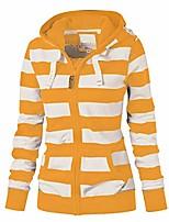 cheap -women's long sleeve hoodie sweatshirt colorblock tie dye print tops
