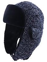cheap -trapper hat faux fur aviator hat with ear flaps russian winter cold weather hat women fleece lined