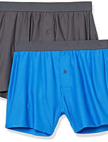 cheap -men's 2-pack breathable quick-dry on-the-go boxer, blue, xx-large