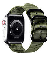 cheap -Watch Band for Apple Watch Series 6 / SE / 5/4 44mm / Apple Watch Series 6 / SE / 5/4 40mm Apple Sport Band / Classic Buckle Nylon / Canvas Wrist Strap